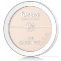 Poudre minérale compacte Ivoire 01 7gr - Lavera, maquillage bio aromatic provence