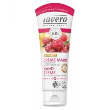 Crème mains Anti Âge Cranberry huile d'argan bio 75ml - Lavera