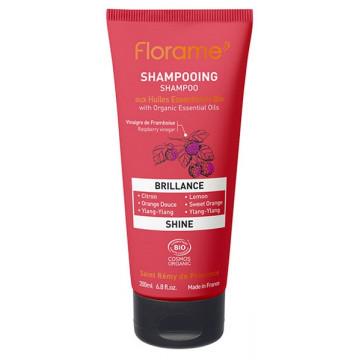 Shampooing Brillance aux huiles essentielles 200ml - Florame