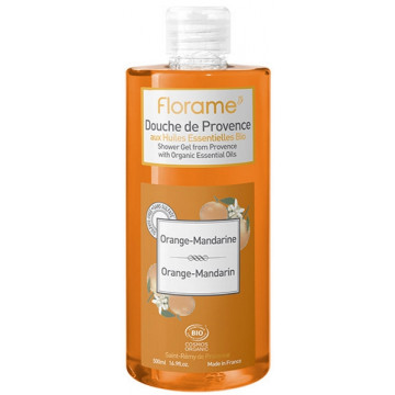 Gel Douche de Provence Mandarine Orange 500 ml - Florame