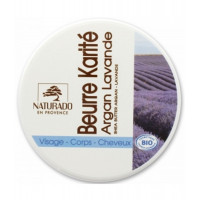 Beurre de Karité Argan Lavande 150 ml - Naturado - beurre de karité bio Aromatic Provence