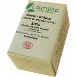 Savon d'Alep avec l'huile de Nigelle 150 gr - Lauralep