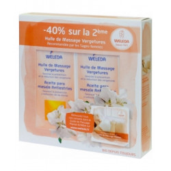 Duo Huile de massage vergetures 2 X 100 ml - Weleda