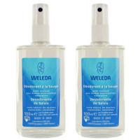 Lot de 2 Déodorants à la Sauge 2 x 100 ml - Weleda,   Déodorants bio,  Produits d'hygiène bio, Aromatic Provence