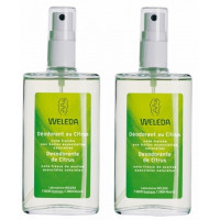 Lot de 2 Déodorants au Citrus 2 x 100 ml - Weleda ,  fragrance citrus  Déodorants bio,  Aromatic Provence