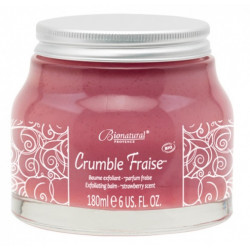 Crumble Gommage corporel Fraise Bionatural 180ml - Phyt's