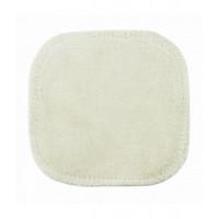 Carré démaquillant lavable en coton bio Avril Beauté carré démaquillant écologique aromatic provence