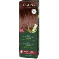 Crème colorante végétale Lie de vin - Logona,   Crèmes colorantes bio,  Soins capillaires bio Aromatic Provence