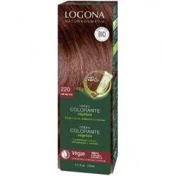 Crème colorante végétale Lie de vin 150 ml - Logona