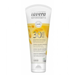 Crème solaire sensitive pour toute la famille SPF 30 Haute protection 100 ml - Lavera