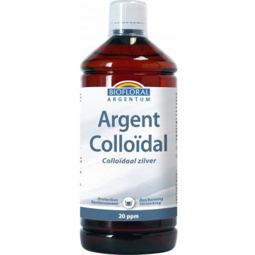 Argent Colloïdal Naturel 20 PPM 1 L - Biofloral