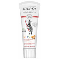 Dentifrice kids calendula bio calcium arôme Fraise 75 ml - Lavera, Dentifrice bio fraise, dentifrice bio