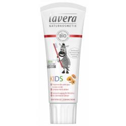 Dentifrice enfant calendula bio calcium arôme Fraise 75 ml - Lavera