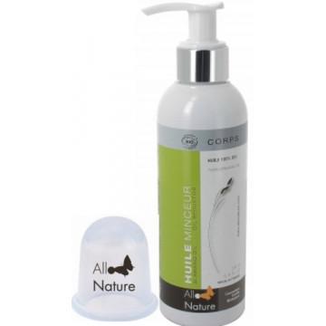Duo Huile Minceur 200ml Cup massage anti cellulite - Allo'Nature