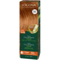 Crème colorante végétale Couleurs d'Automne cheveux chatains 150ml - Logona