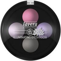 Fard à paupières minéral Quattro poudre cuite Lavande 02 2g - Lavera - Maquillage bio - Aromatic Provence
