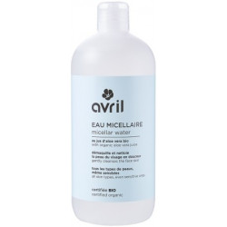 Eau micellaire 500 ml - Avril