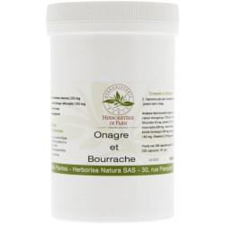 Onagre Bourrache Vitamine E 220 capsules - Herboristerie de Paris