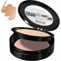 Fond de teint compact 2en1 Miel 03 10 g - Lavera  - Maquillage bio - Aromatic Provence