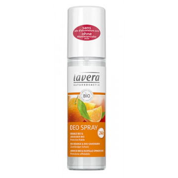 Déodorant spray fraîcheur Orange Argousier 75 ml - Lavera