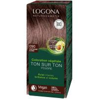coloration végétale ton sur ton 090 en poudre Chataîgne dorée 100 g - Logona Soin colorant végétal Aromatic Provence