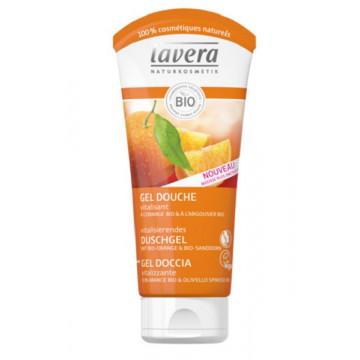 Gel douche Orange Argousier 200 ml - Lavera