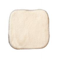 La débarbouillette 100% coton biologique 20X20 cm - Lulu Nature - Hygiene bio - Aromatic Provence