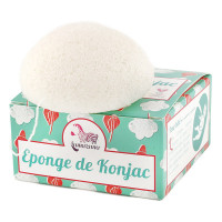 Eponge de Konjac 30 g - Lamazuna - Hygiène bio - Aromatic Provence