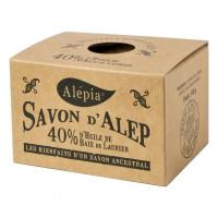 Savon d'Alep 40% Laurier 190 g - Alepia - Hygiène bio - Aromatic Provence