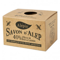 Savon d'Alep 40% Laurier 190 g - Alepia