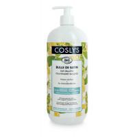 Gel douche surgras peau sèche à l'extrait de Chèvrefeuille 1 L - Coslys - Hygiène bio - Aromatic Provence