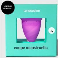 Coupe menstruelle violette taille 2 - LunaCopine Aromatic Provence