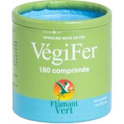 Vegifer 180 comprimés de 500mg - Flamant Vert