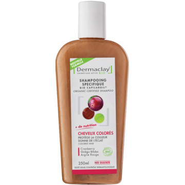 Shampooing traitant Cheveux Colorés 250ml - Dermaclay