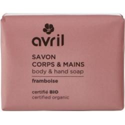 Savon de Provence Corps et Mains Framboise 100 gr - Avril beauté