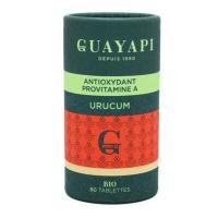 Urucum caroténoides 80 tablettes 600 mg - Guayapi béta carotène Aromatic Provence