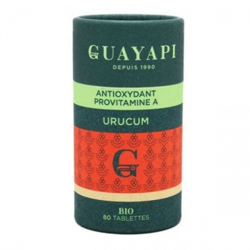 Urucum caroténoides 80 tablettes 600 mg - Guayapi
