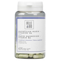 magnesium marin vitamine B6 120 gélules Belle et Bio oxyde de magnésium Aromatic Provence