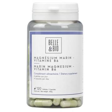 Magnesium marin vitamine B6 120 gélules - Belle et Bio