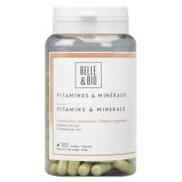Belle et Bio Vitamines et minéraux naturels 120 gélules anti carence Aromatic Provence