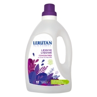 Lessive liquide concentrée savon de marseille orange lavande 1.5 litre Lerutan