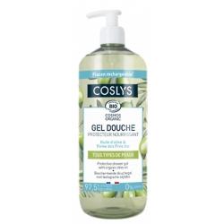 Gel douche protecteur et nourrissant à l'huile d'olive bio 1 L - Coslys