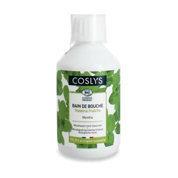 Bain de bouche protection complète fraîcheur intense arôme Menthe 250 ml - Coslys