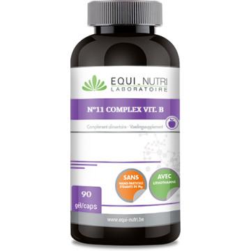 n°11 complexe vit B 90 gélules - Equi-nutri