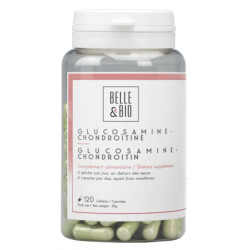 Glucosamine et Chondroïtine 120 gélules - Belle et Bio