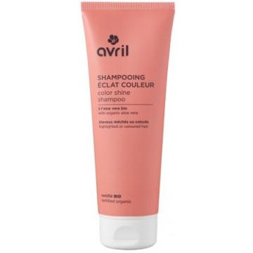 Shampooing bio Eclat couleur cheveux colorés ou méchés 250ml Avril beauté