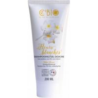 Shampooing gel douche Fleurs Blanches 200ml - C'Bio,   Produits d'hygiène bio,  Cosmétique Aromatic Provence