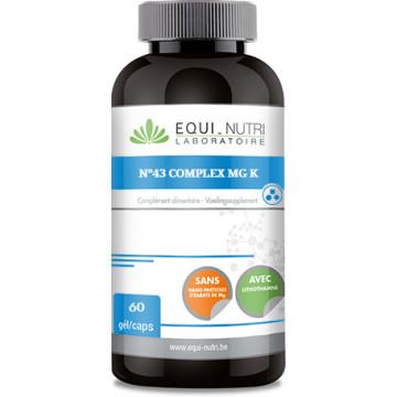 N°43 complex Mg / K 60 gélules végétales - Equi Nutri