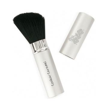 Pinceau n°3 rétractable poudre fard à joues - Couleur Caramel