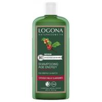 Shampooing Age Energy Caféine baies de Goji 250ml - Logona cheveux fragiles Aromatic provence